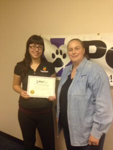 Christina Dore is a certified CPR Instructor.